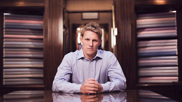The Making of a Bespoke Shirt with Lewis Moody