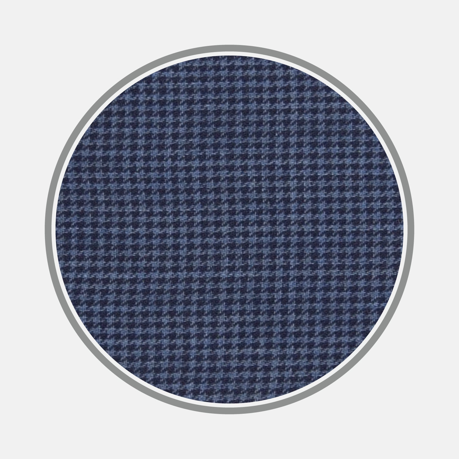 Navy Check Flannel Fabric