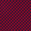Seven-Fold Navy and Red Houndstooth Silk Tie