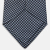 Blue Check Silk Tie