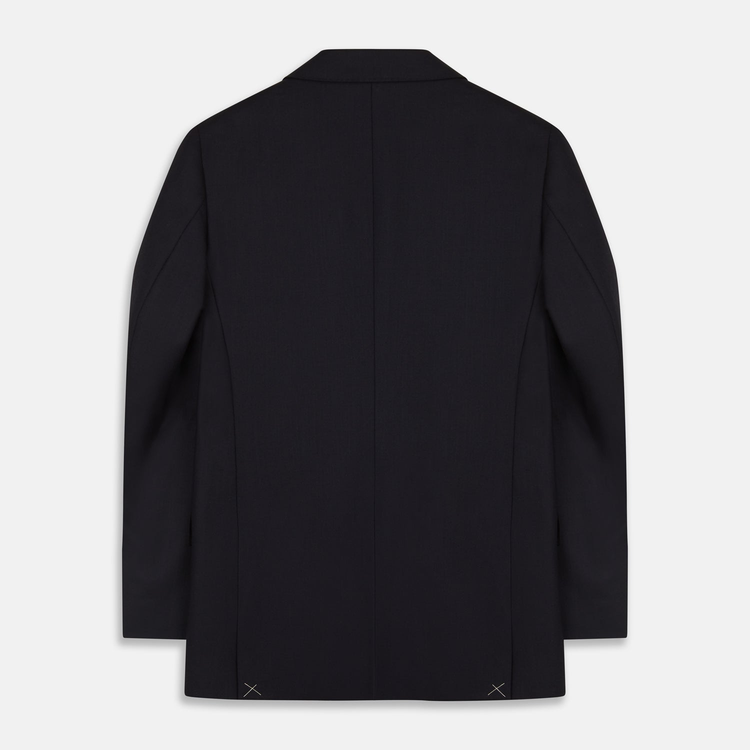 Midnight Navy Wool Barrington Blazer