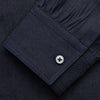 Navy Chambray Weekend Fit Shirt with Dorset Collar and 1-Button Cuffs