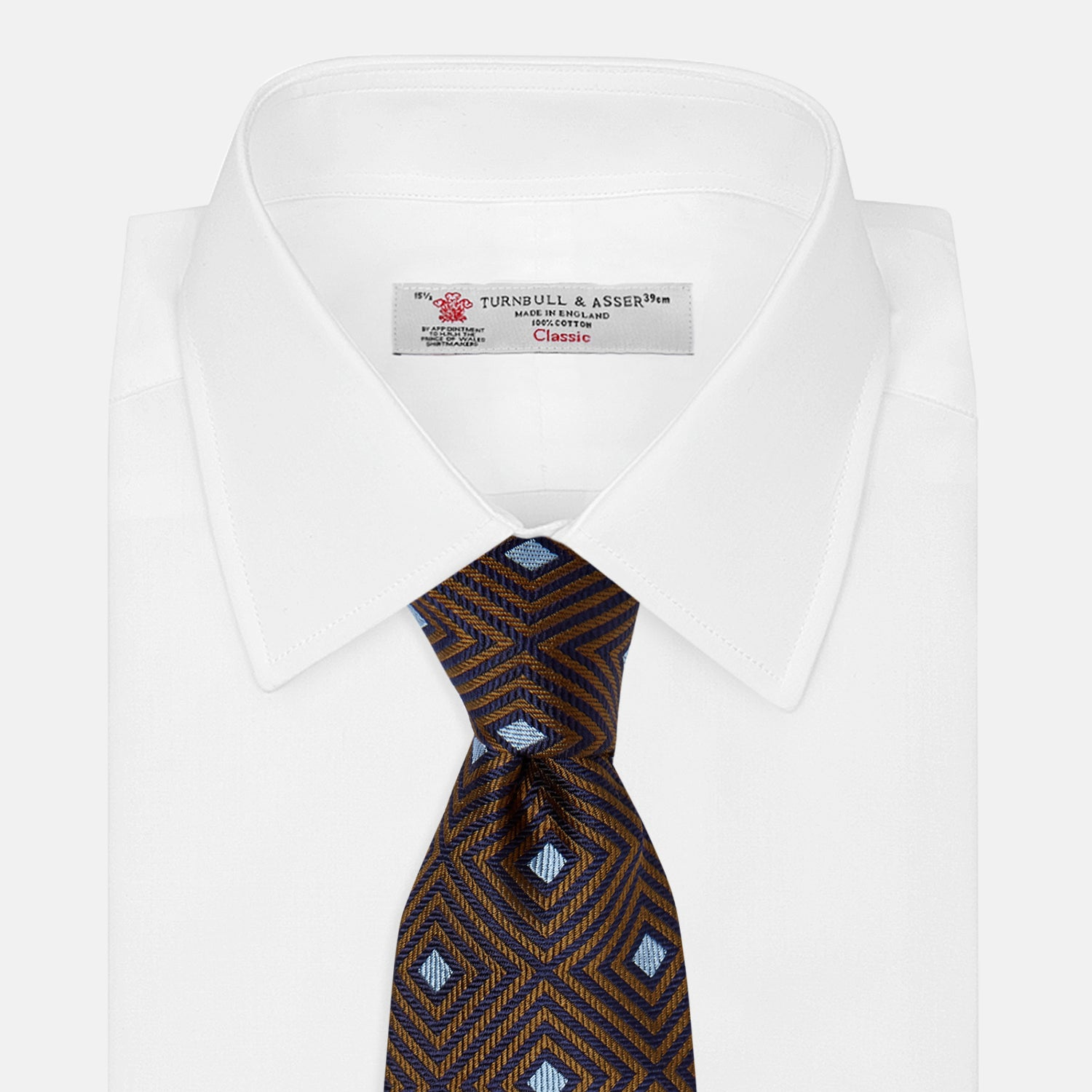 Tomorrow Never Dies Square Silk Tie As Seen on James Bond