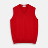 Red Cashmere Slipover