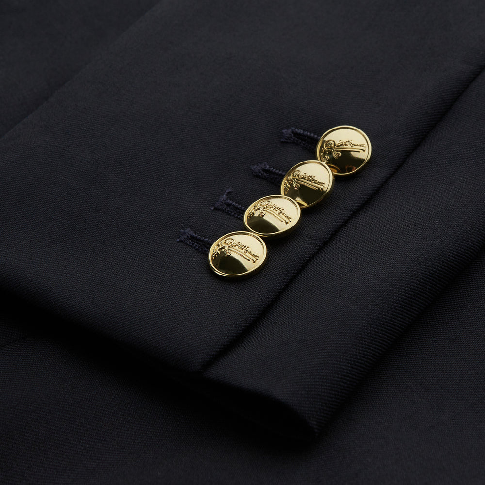 The Classic Navy Wool Blazer