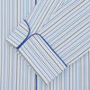 Blue & White Twill Cotton Stripe Pyjama Set