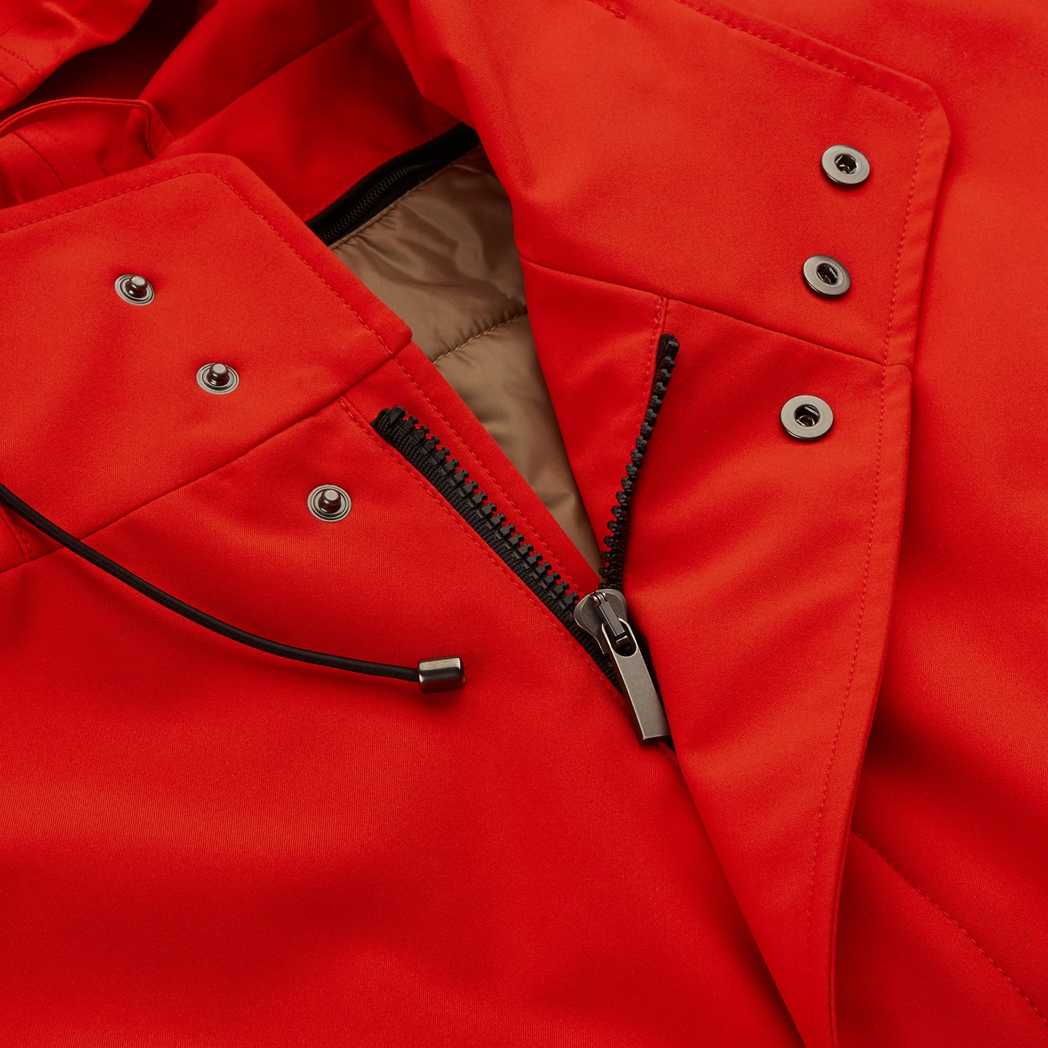 Red Walter Sealup Parka with Detachable Liner