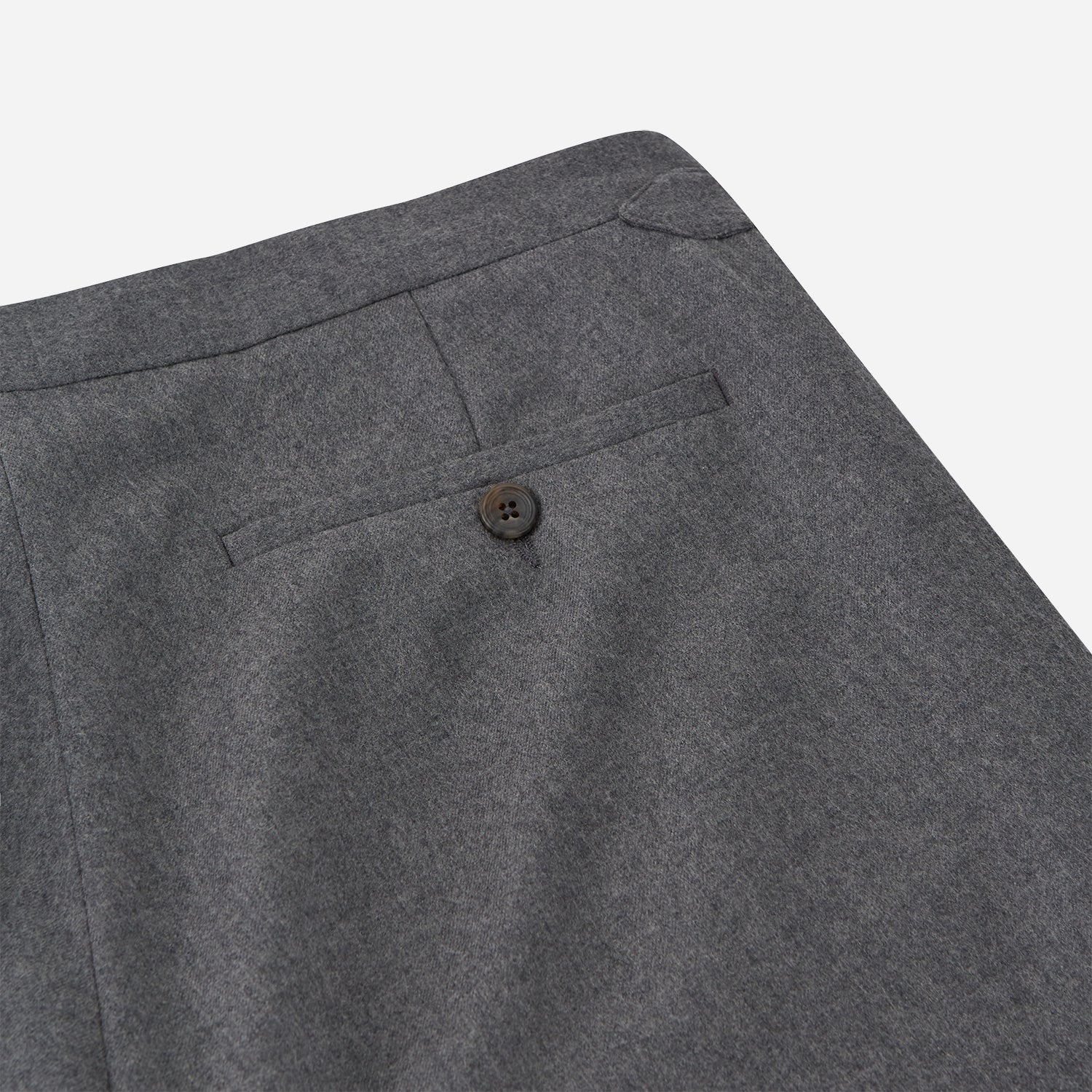 Grey Fox Flannel Trousers