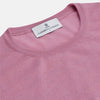 Pink Merino Kingston Crew Neck Jumper