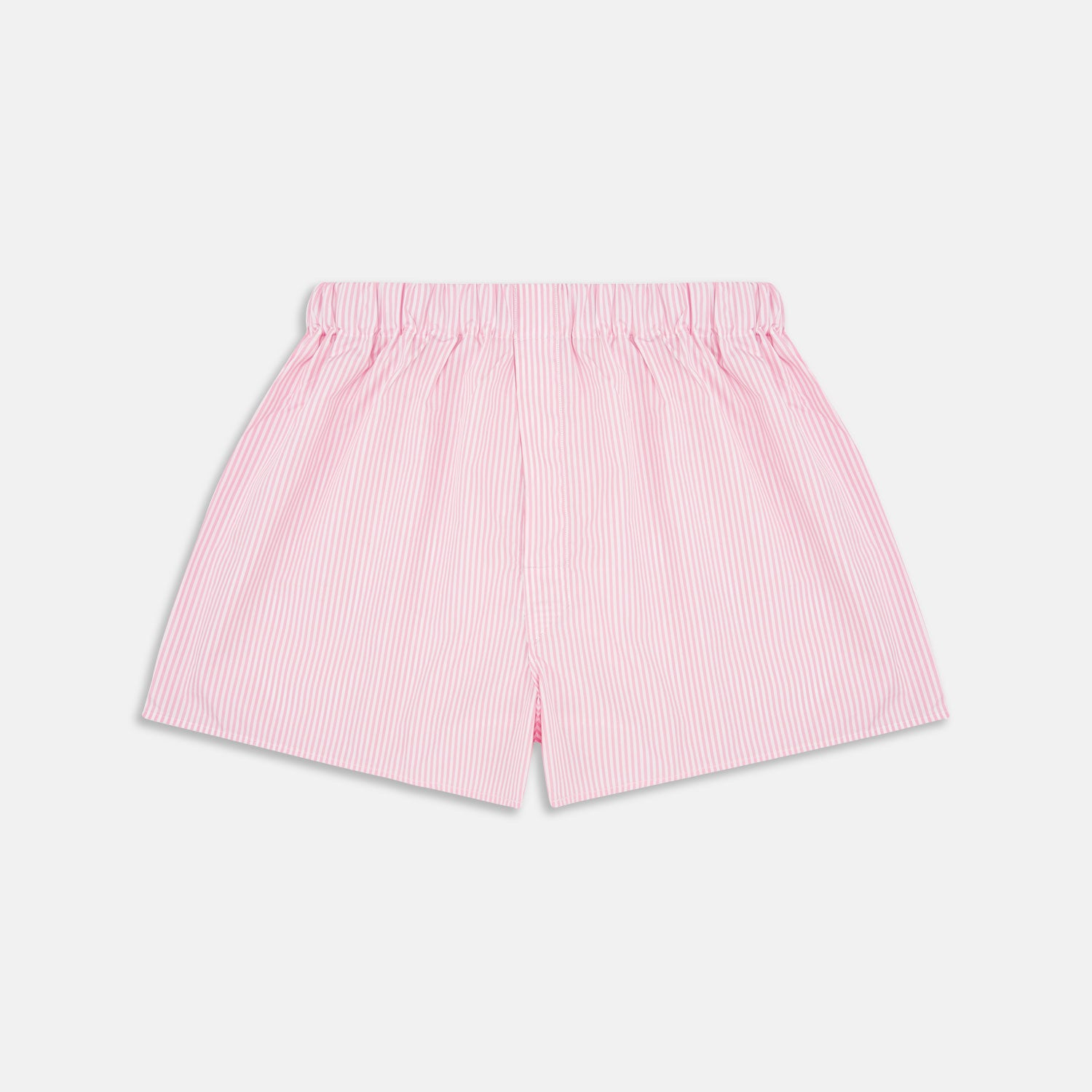 Pink Bengal Stripe Cotton Boxer Shorts
