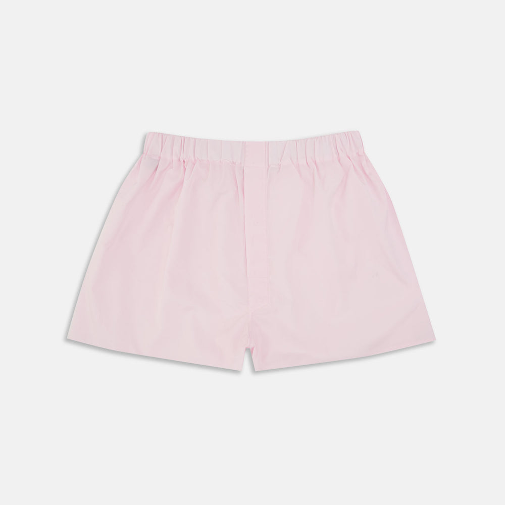 Pink Sea Island Quality Cotton Boxer Shorts