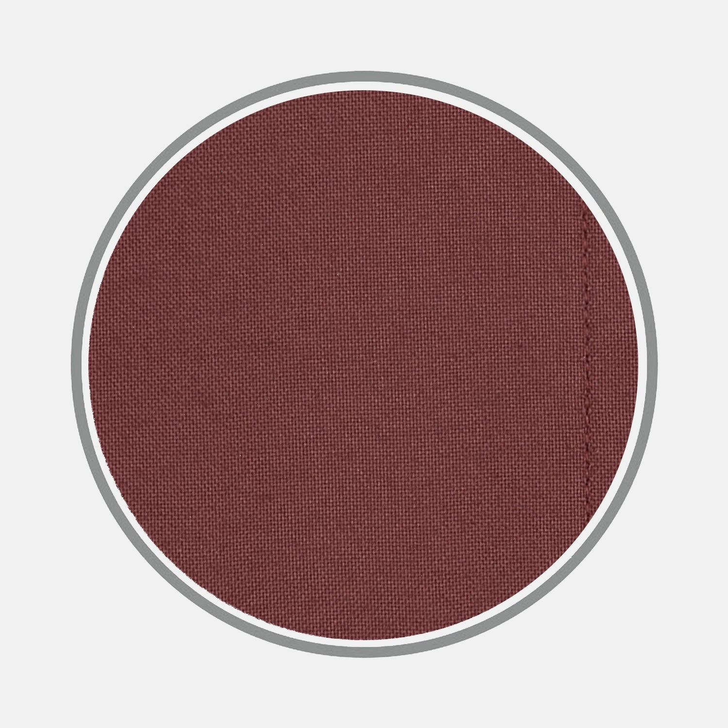 Plain Burgundy Cotton Fabric
