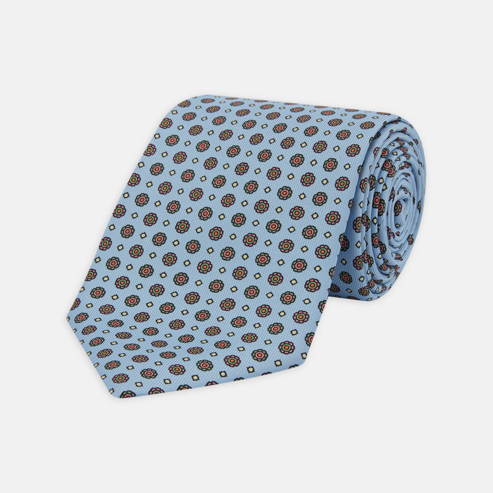 The Great Gatsby Silk Tie as seen on Jay Gatsby