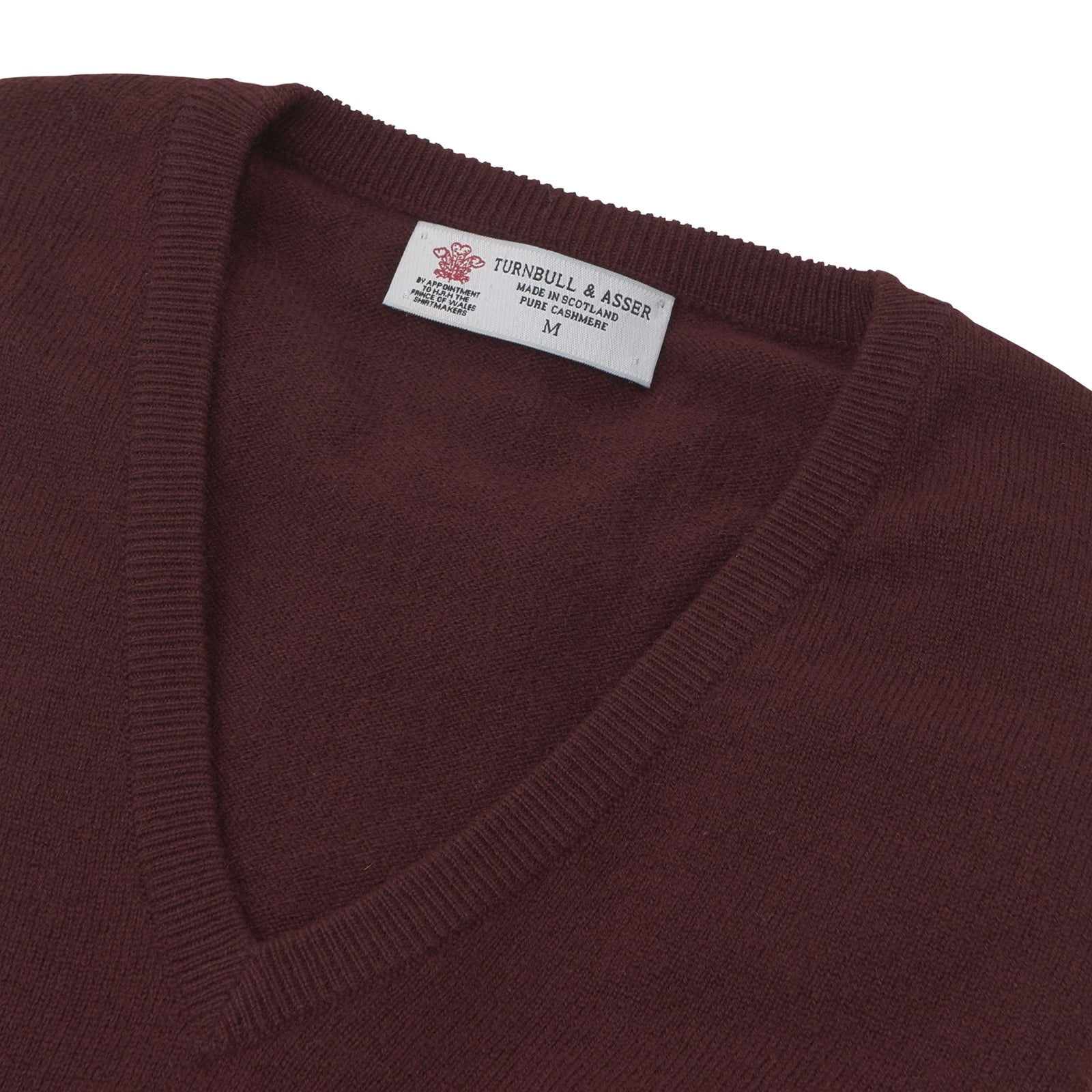 Port V-Neck Cashmere Slipover