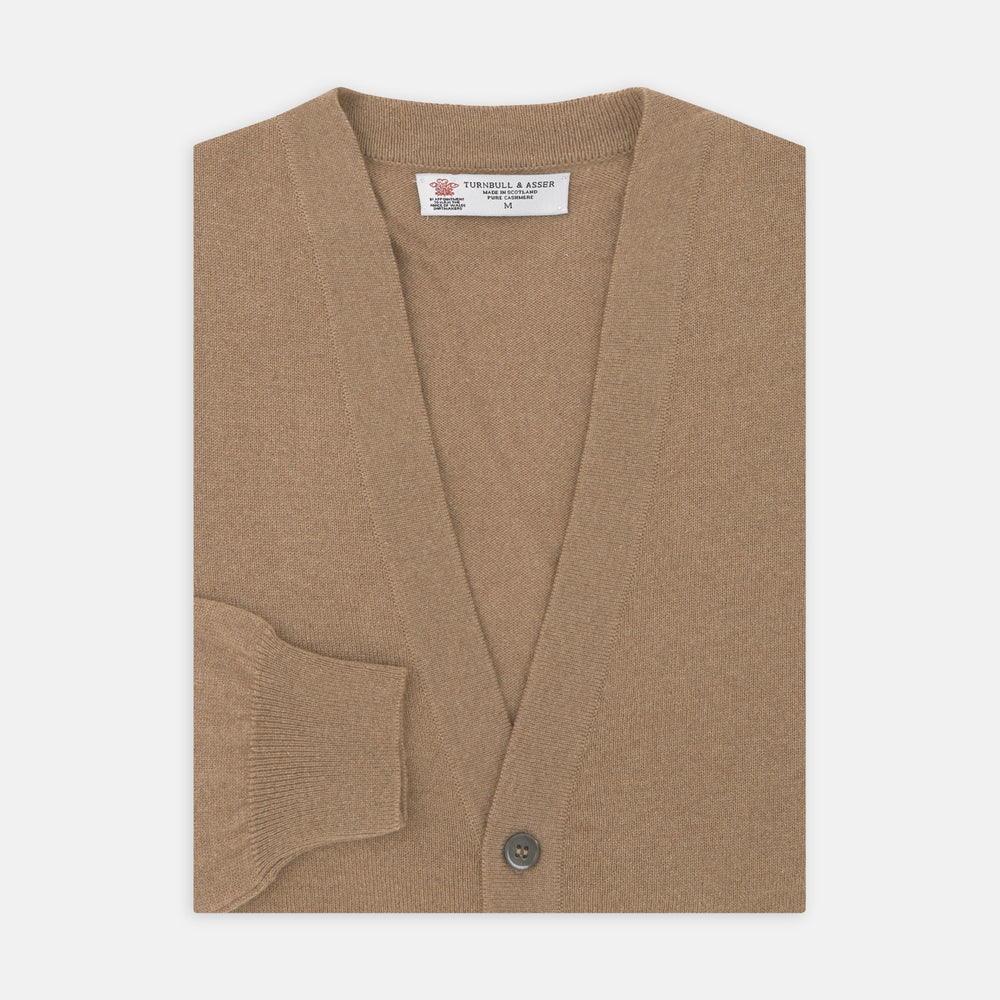 Natural Cashmere Cardigan