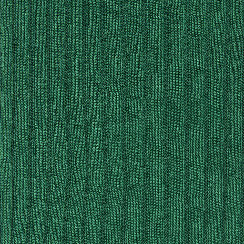 Clover Green Long Cotton Socks