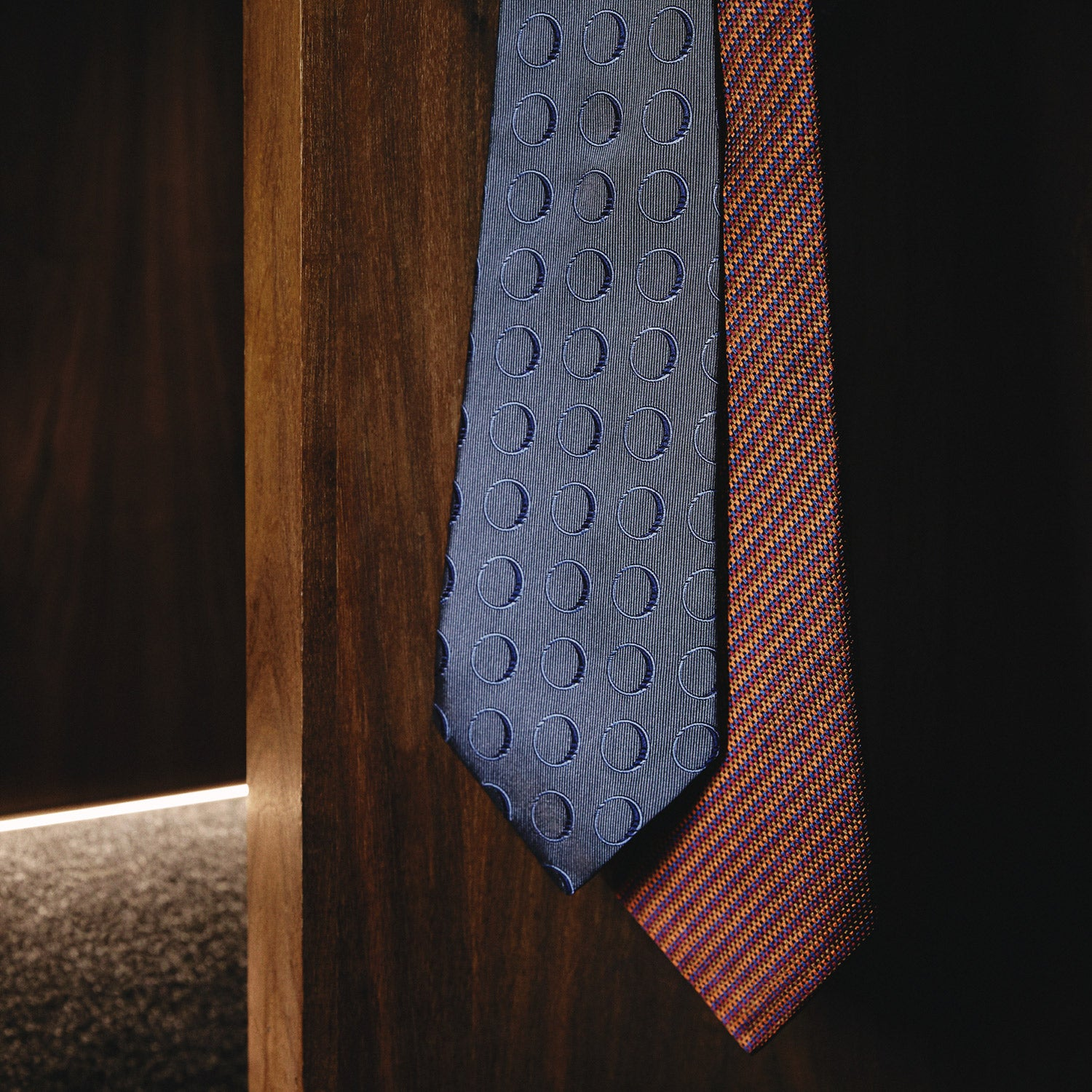 Die Another Day Stripe Silk Tie As Seen on James Bond