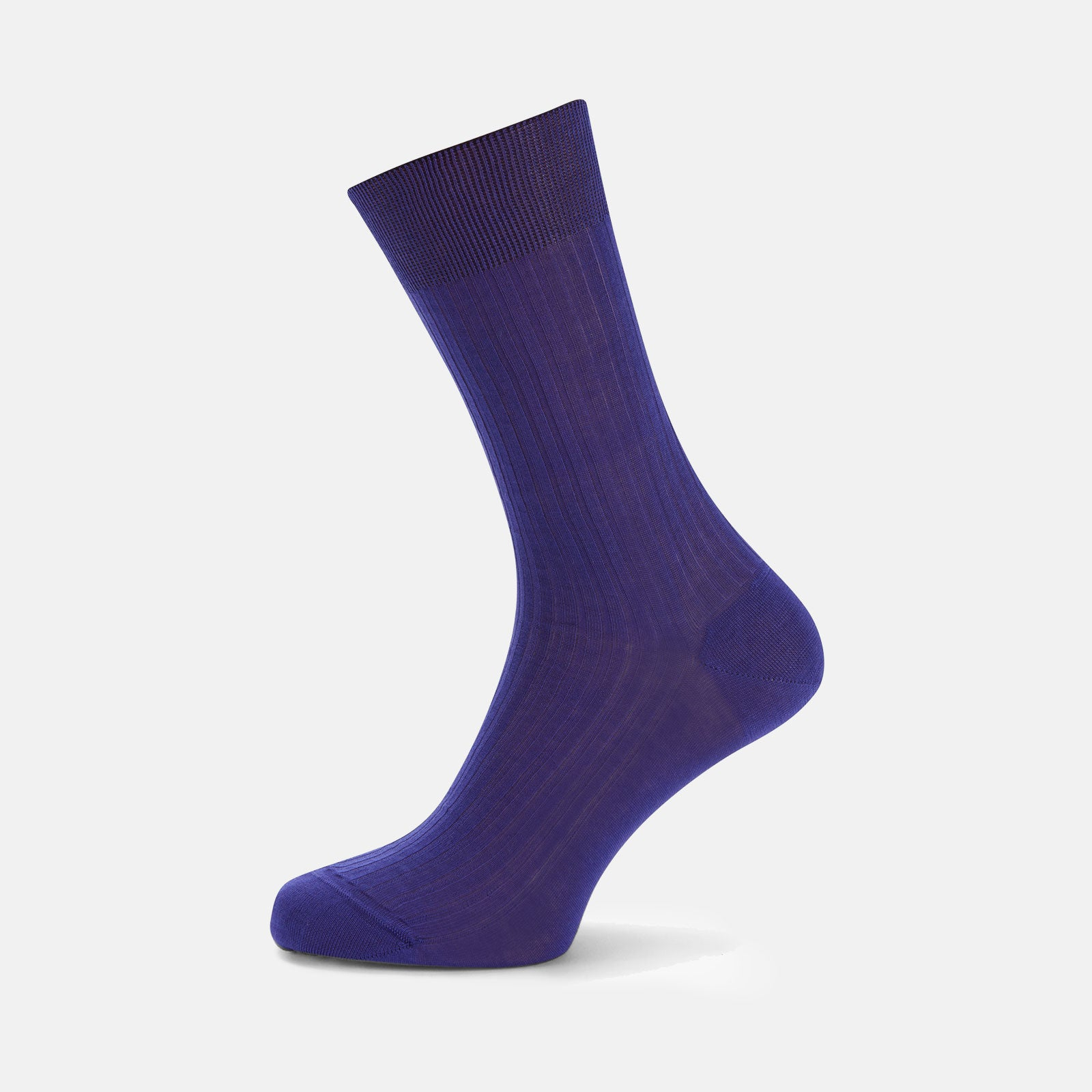 Purple Short Pure Cotton Socks