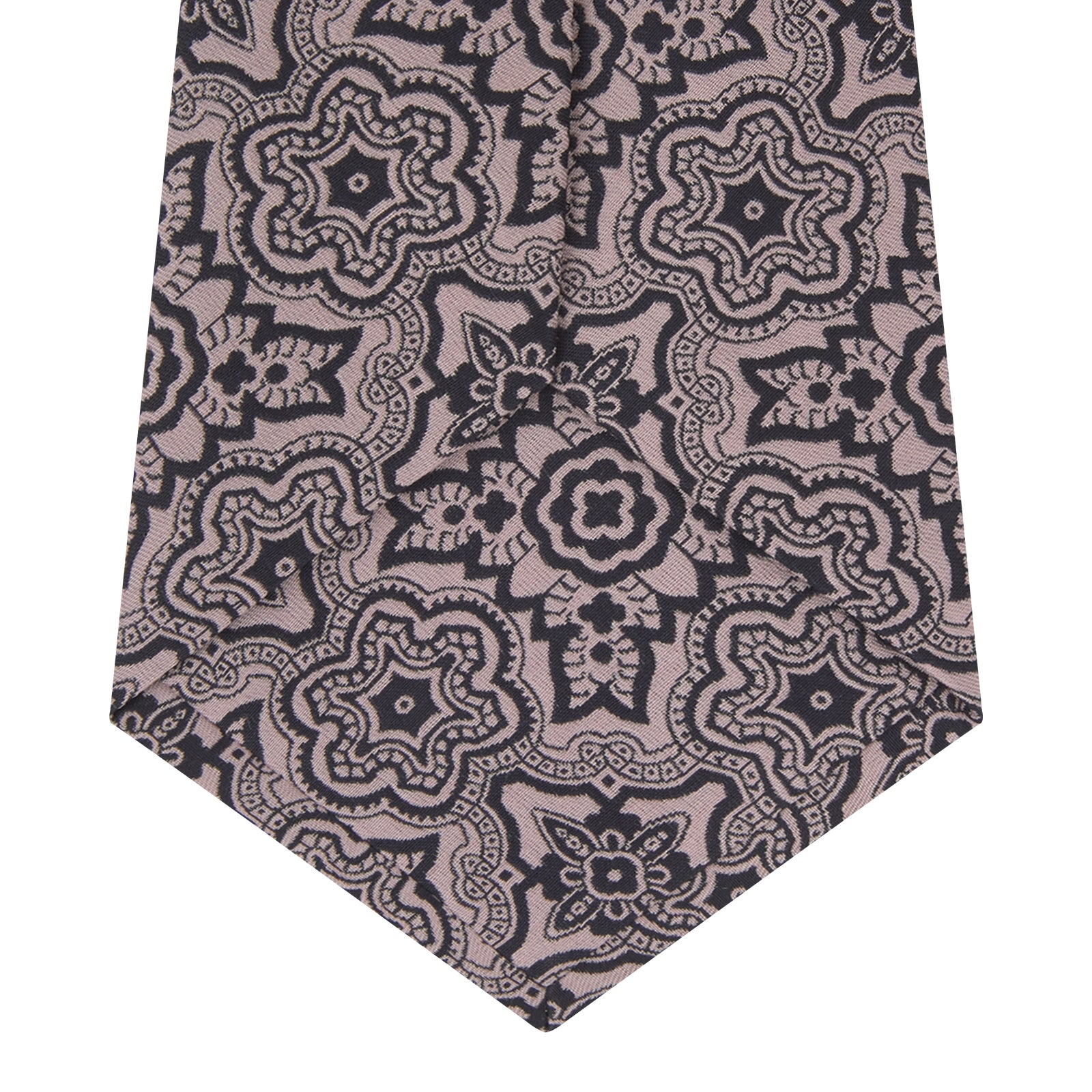Pink Wallpaper Silk Tie