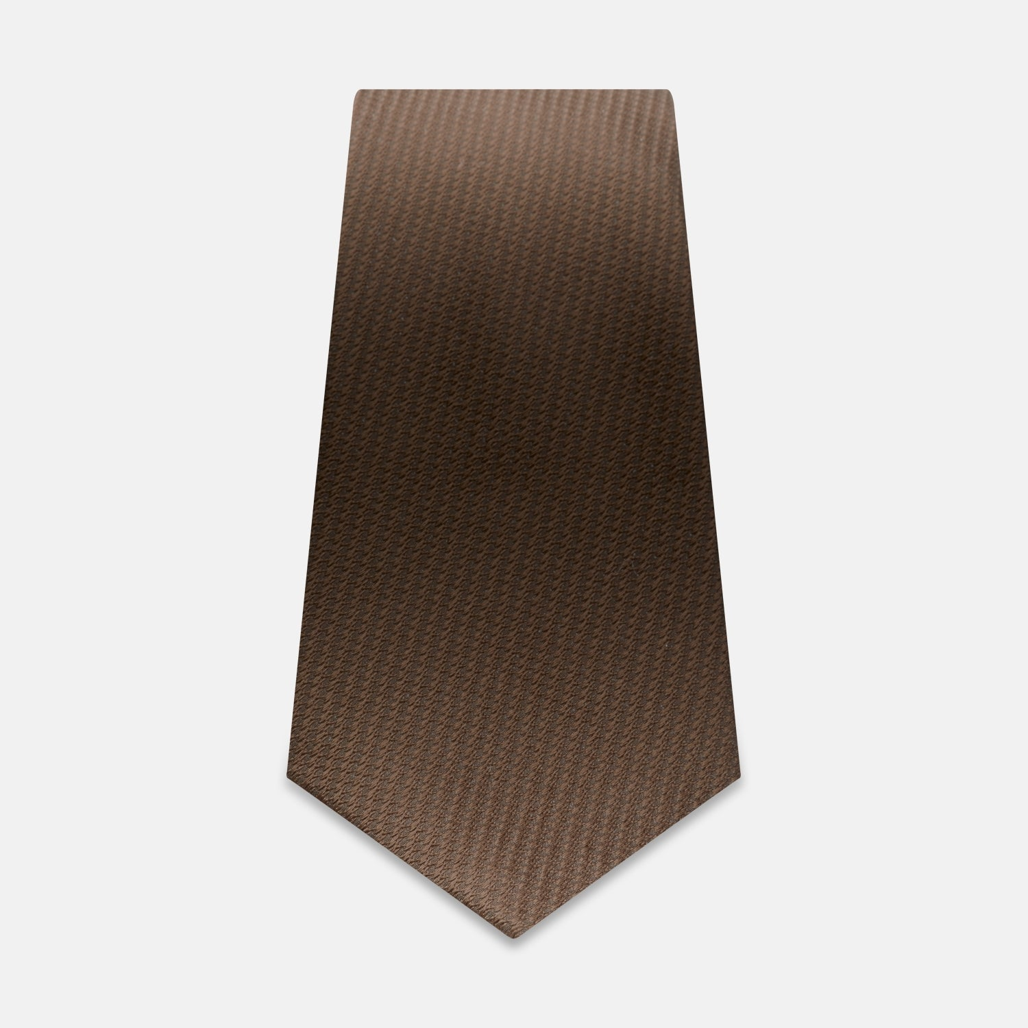 Brown Lace Silk Tie