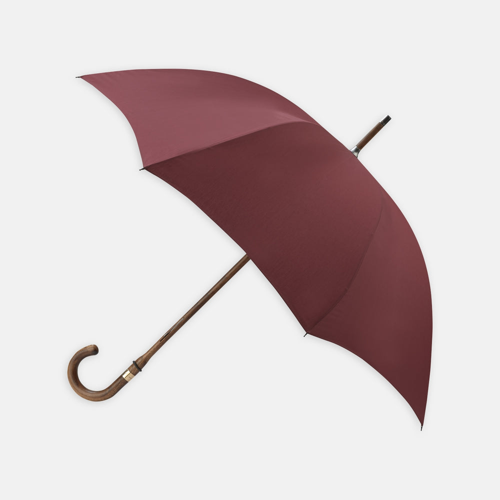 Wine Hickory Wood Umbrella