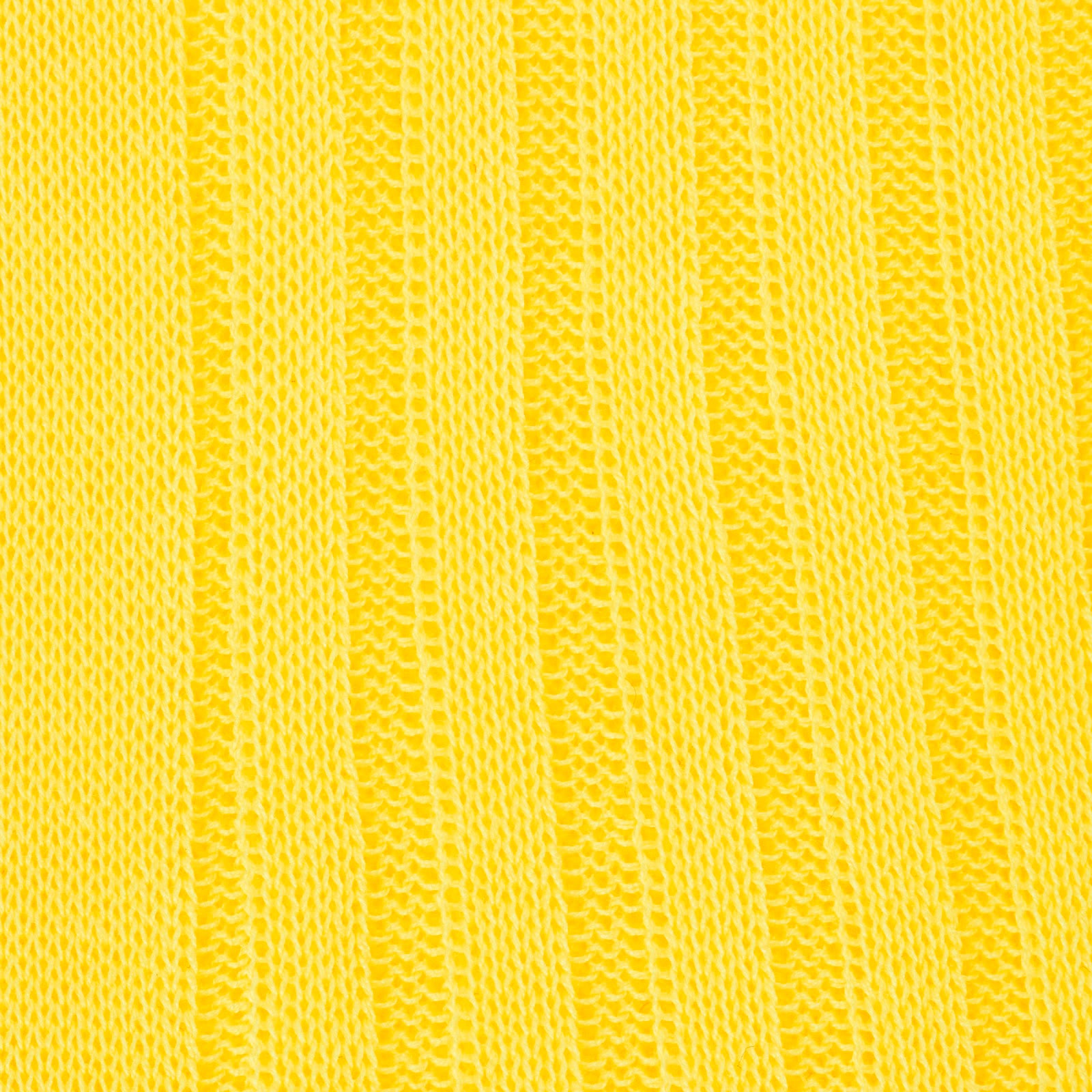 Bright Yellow Long Cotton Socks