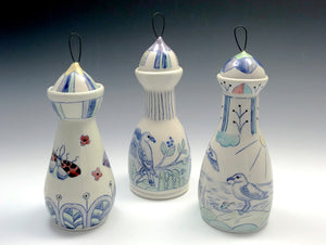 Bottle with butterflies