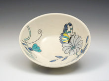 Load image into Gallery viewer, Personal sized bowl with butterfly