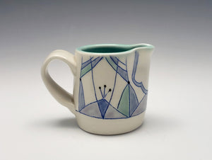 Creamer with Art Deco decoration