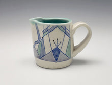 Load image into Gallery viewer, Creamer with Art Deco decoration