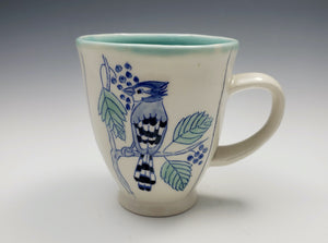 Mug with bluejay – made to order