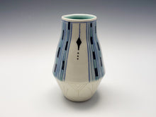 Load image into Gallery viewer, Vase with Art Deco decoration