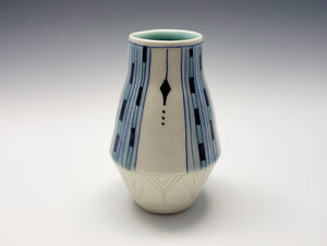 Vase with Art Deco decoration