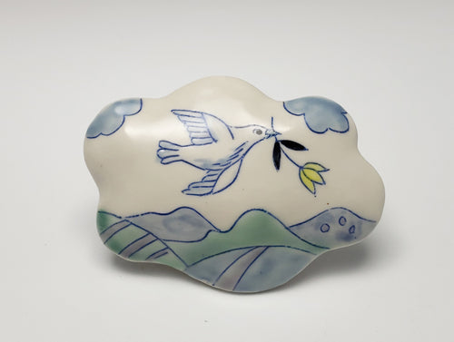 Small cloud wall sculpture