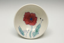 Load image into Gallery viewer, Little bowl with red poppy