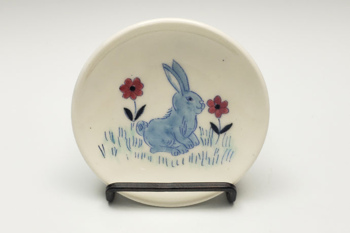Tiny plate with bunny - 1