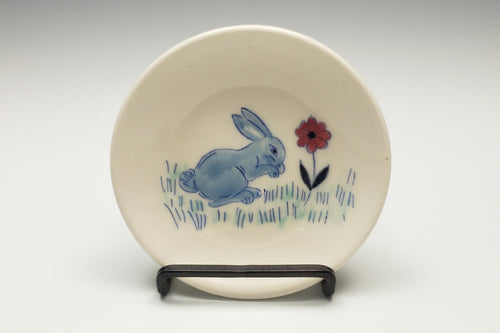 Tiny plate with bunny - 2