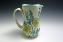 Load image into Gallery viewer, Pitcher with yellow flowers
