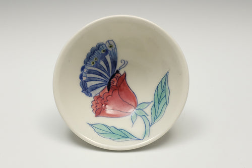 Little bowl with butterfly