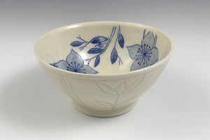 Small bowl with dogwood flowers