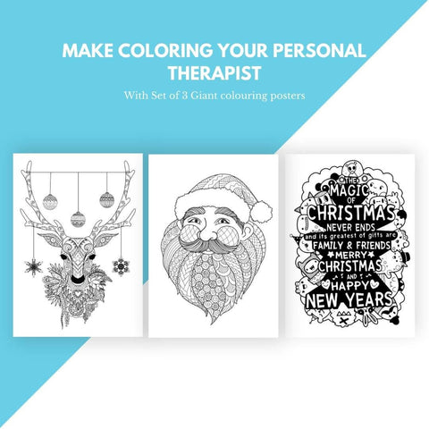 Mindful Colouring Posters (Pack of 3)