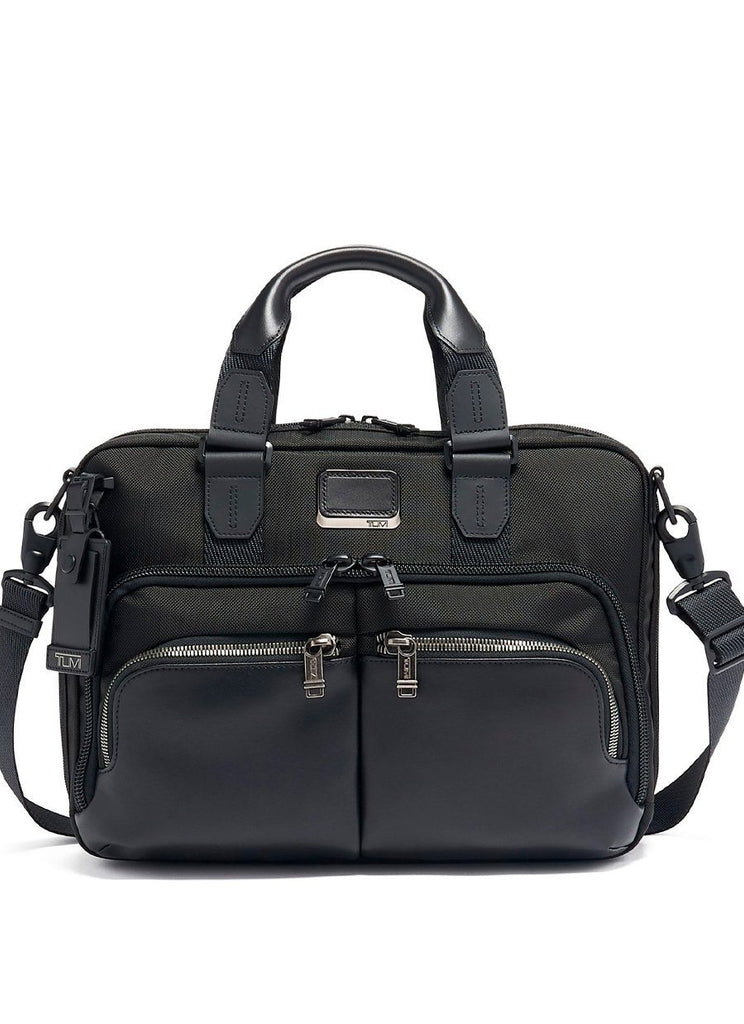 Tumi Alpha Bravo Sort Albany Slim Commuter Brief Computertaske Tumi