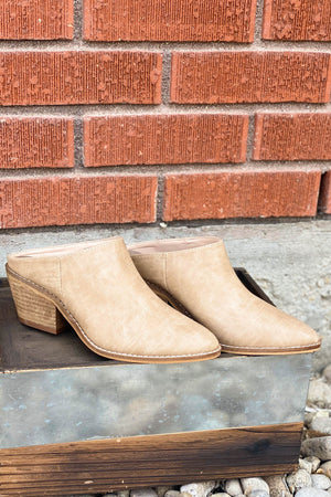 Corky's Amina Mule in Taupe