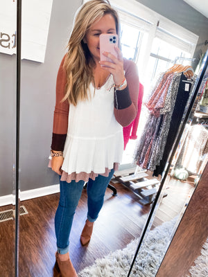Fan Favorite Babydoll Top