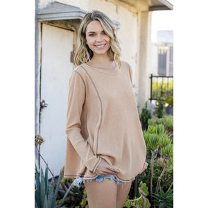 Easy to Wear Camel Tunic