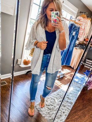 High Rise Super Skinny Light Jeans