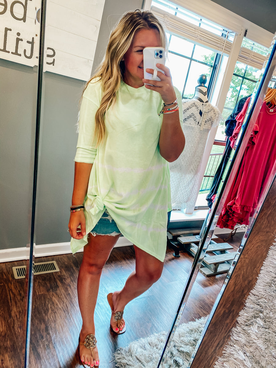 Neon Yellow Tunic