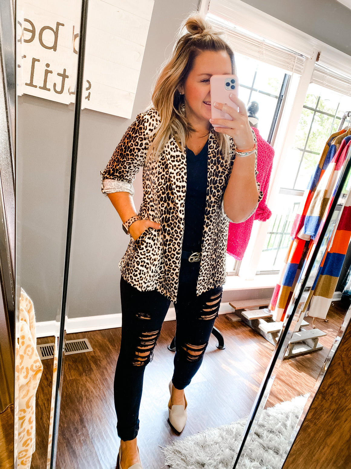 Steal the Show Leopard Jacket