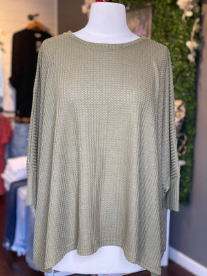 Oversized Thermal Tunic