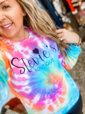 Stevie's Boutique Tie Dye Sweatshirt